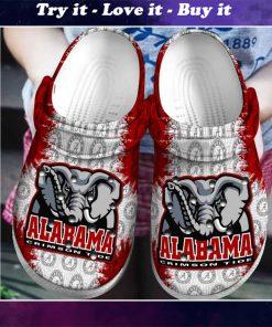 the alabama crimson tide football crocs - Copy