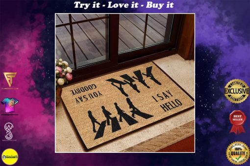 the beatles i say hello you say goodbye doormat