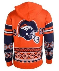 the denver broncos nfl full over print shirt 2