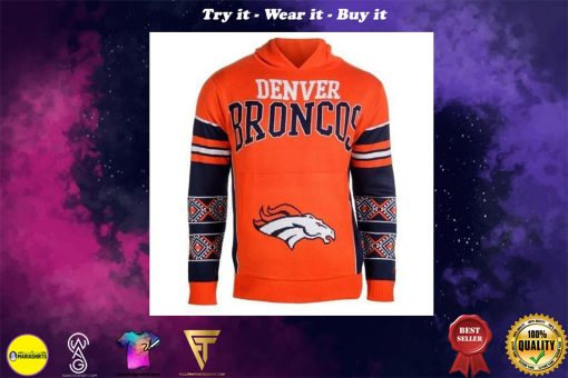 the denver broncos nfl full over print shirt