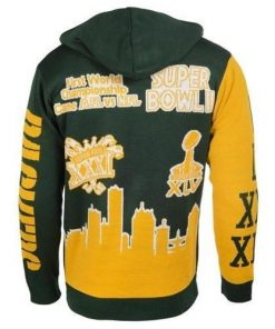 the green bay packers super bowl champions full over print shirt 3