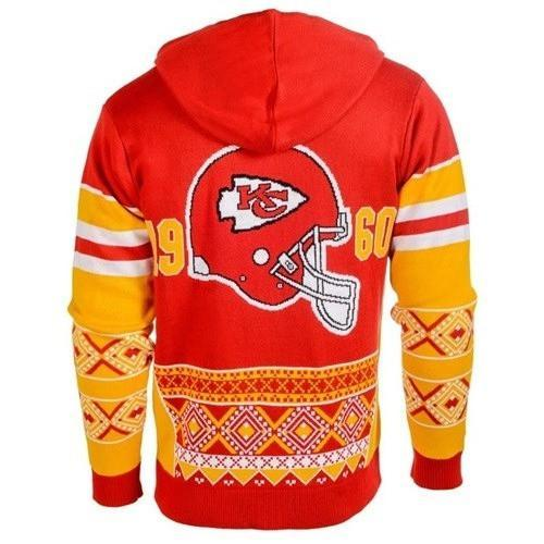 the kansas city chiefs nfl full over print shirt 3