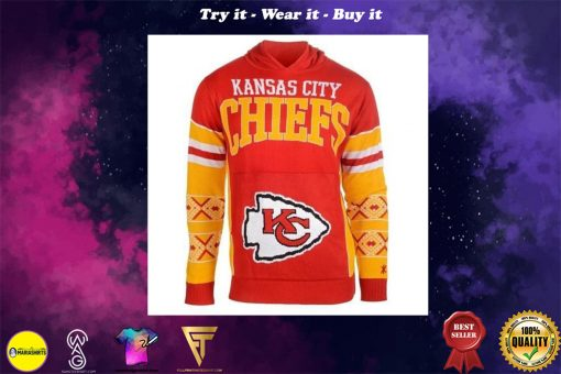 the kansas city chiefs nfl full over print shirt