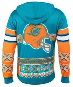 the miami dolphins nfl full over print shirt 3