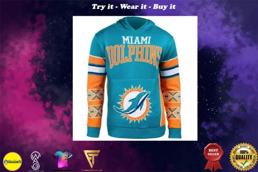 the miami dolphins nfl full over print shirt