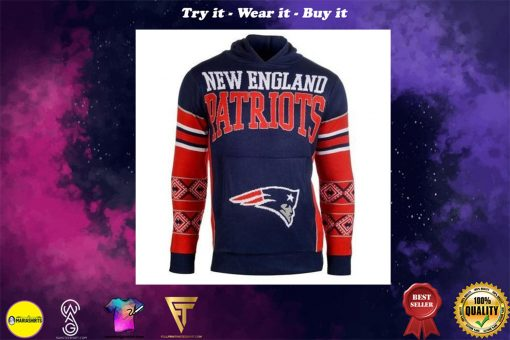the new england patriots nfl full over print shirt