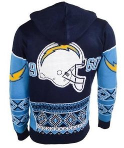 the san diego chargers full over print shirt 3