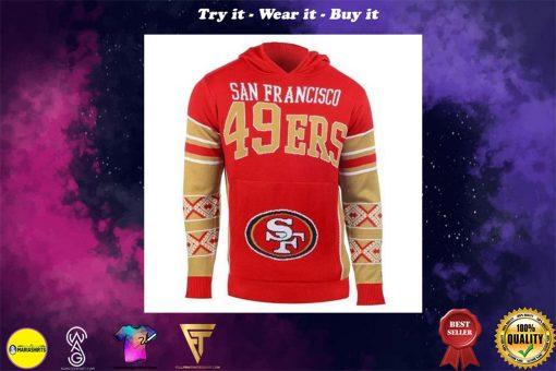 the san francisco 49ers full over print shirt