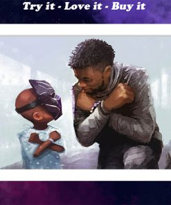 true warrious black panther watercolor poster