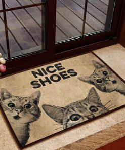 vintage cat nice shoes doormat 1