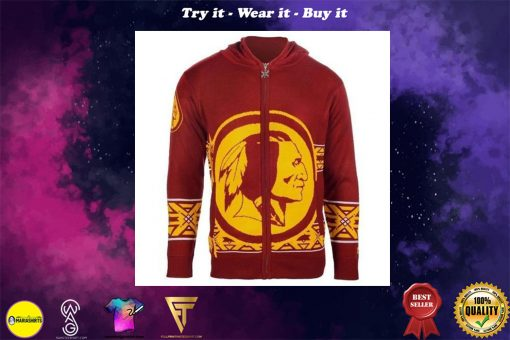 washington redskins nfl full over print shirt
