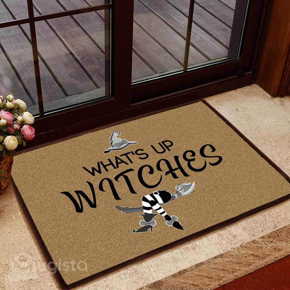 whats up witches doormat 1