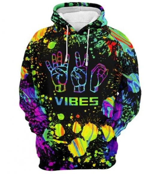 420 vibes watercolor full printing shirt 2
