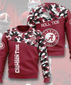 alabama crimson tide football camo full printing ugly sweater 5