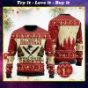 all i want for christmas is more time for cricket christmas ugly sweater