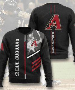 arizona diamondbacks d-backs swing full printing ugly sweater 3