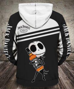 baby jack skellington love jack daniels full printing hoodie 1