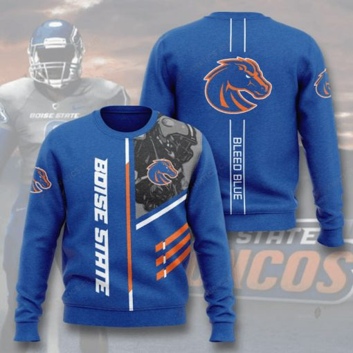 boise state broncos bleed blue full printing ugly sweater 2
