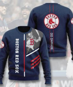 boston red sox do damage full printing ugly sweater 4