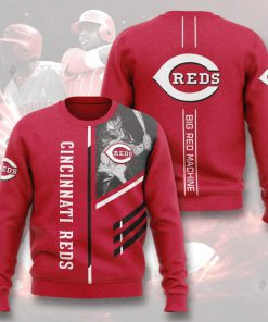 cincinnati reds big red machine full printing ugly sweater 2