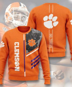 clemson tigers football go tigers full printing ugly sweater 5