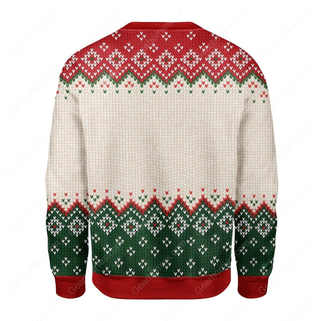 coat of arms of mexico all over printed ugly christmas sweater 4