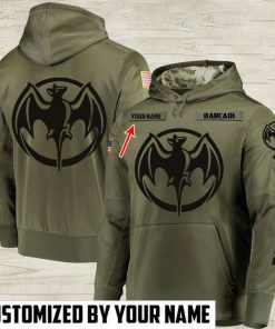 custom name bacardi white rum full printing hoodie 1