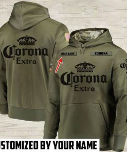 custom name corona extra beer full printing hoodie 1