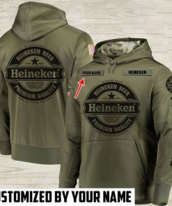 custom name heineken beer premium quality full printing hoodie 1