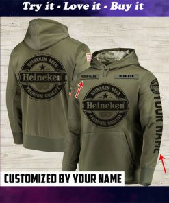 custom name heineken beer premium quality full printing shirt