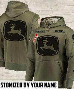 custom name john deere full printing shirt 2