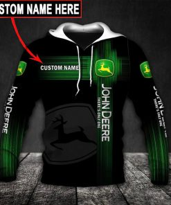 custom name john deere there's only one full printing hoodie 1
