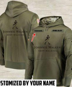 custom name johnnie walker keep walking full printing hoodie 1