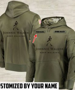 custom name johnnie walker keep walking full printing shirt 2