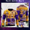 custom name lsu tigers football christmas ugly sweater