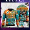 custom name miami dolphins football team christmas ugly sweater