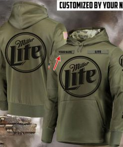 custom name miller lite beer full printing shirt 2