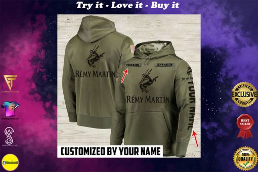 custom name remy martin cognac full printing shirt