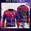 custome name buffalo bills football team christmas ugly sweater