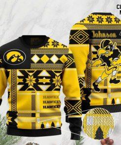 custome name iowa hawkeyes football team christmas ugly sweater 2 - Copy (3)