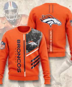 denver broncos united in orange full printing ugly sweater 2