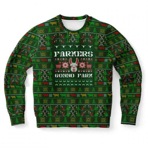 farmers gonno farm full printing christmas ugly sweater 2