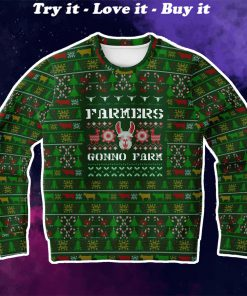 farmers gonno farm full printing christmas ugly sweater