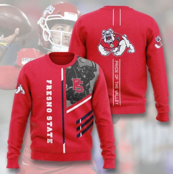 fresno state bulldogs football pride of the valley full printing ugly sweater 2