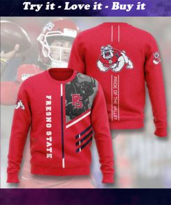 fresno state bulldogs football pride of the valley full printing ugly sweater