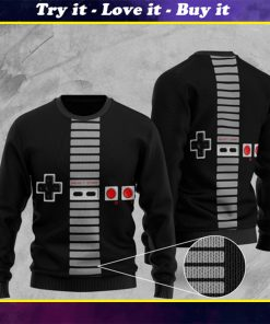 game playstation full printing ugly sweater