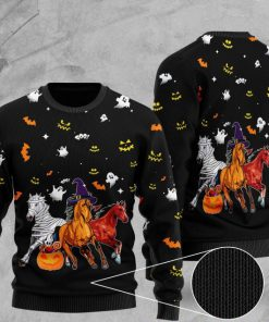 halloween horse full printing christmas ugly sweater 2 - Copy (3)