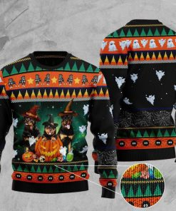 halloween rottweiler full printing christmas ugly sweater 2 - Copy (3)