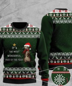 its the most wonderful time of the year otter christmas ugly sweater 2 - Copy (2)