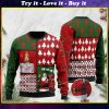 jesus birthday boy and santa claus ho ho ho with toilet paper 2020 christmas ugly sweater
